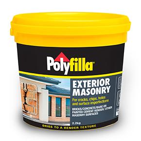 polyfilla exterior masonry poly